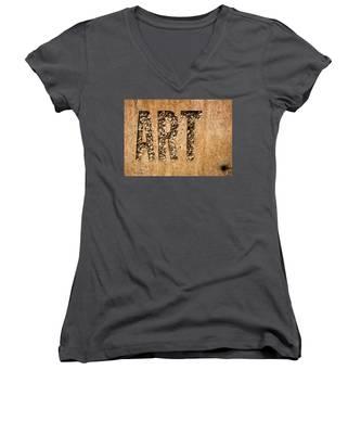 art Women's V-Neck