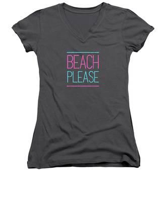 Funky Women's V-Neck T-Shirts