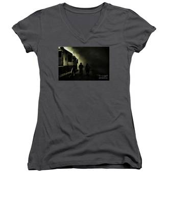 Into The Fight Women's V-Neck
