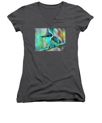 Kookaburra Blues Women's V-Neck