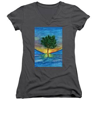 Lonely Pine Women's V-Neck
