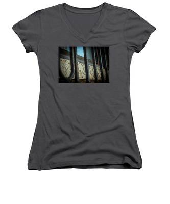 The Texture Of Time Women's V-Neck