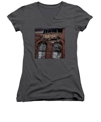 Time's Cathedral Women's V-Neck