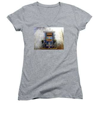 Behind The Window ... Women's V-Neck
