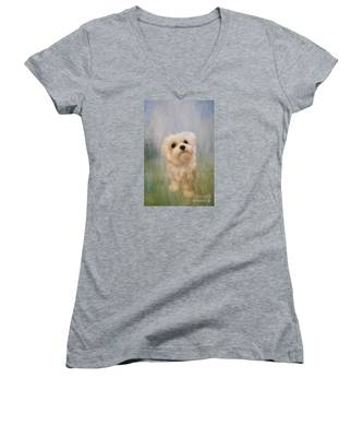 Can We Play Now Women's V-Neck