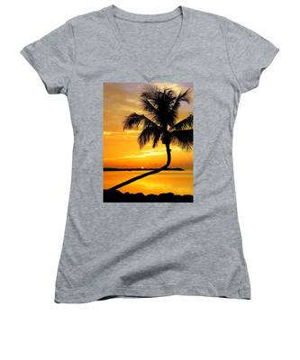 Crooked Palm Women's V-Neck