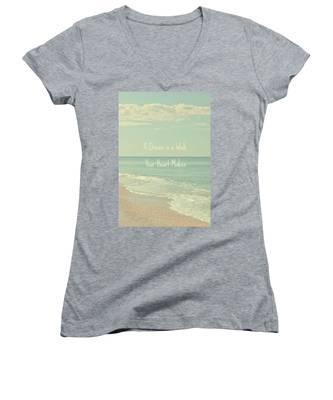 Dreams And Wishes Women's V-Neck