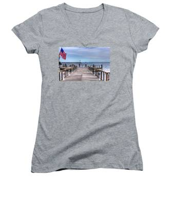 Ferry I See You Women's V-Neck