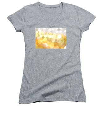Gold On The Ceiling Women's V-Neck
