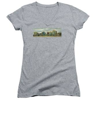 Halifax From The Harbour Women's V-Neck