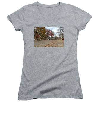 Lonely Colonial Williamsburg Women's V-Neck