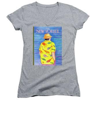 New Yorker June 13th, 1988 Women's V-Neck