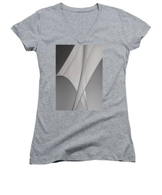 Sailcloth Abstract Number 3 Women's V-Neck