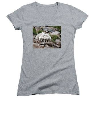 Say Cheese Women's V-Neck