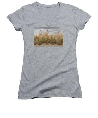 Sea Grass And Sand Women's V-Neck
