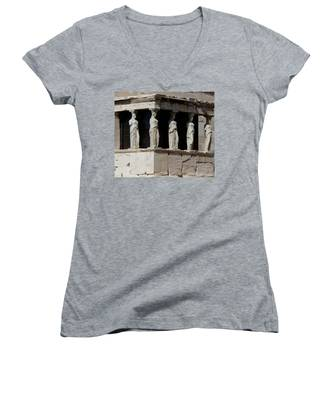 The Porch Of Maidens Women's V-Neck