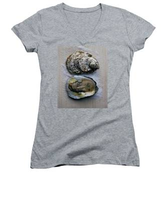 Two Oysters Women's V-Neck