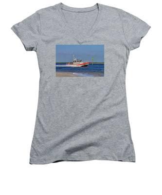United States Coast Guard Women's V-Neck