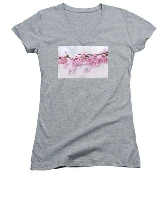 Beauty Of Blossom Women's V-Neck