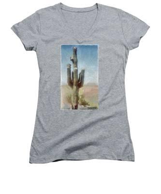 Cactus Women's V-Neck