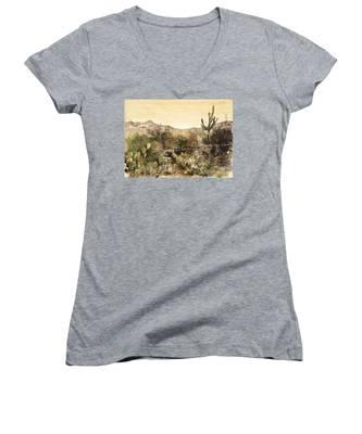 Desert Walk Women's V-Neck