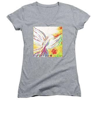 Holy Spirit Women's V-Neck