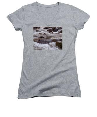Ellenville Waterfall Women's V-Neck