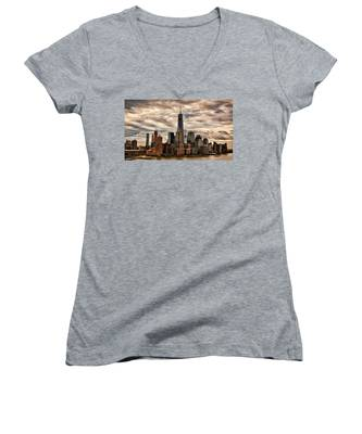 Gotham City Women's V-Neck