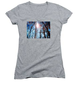 Jumbled Waters Women's V-Neck