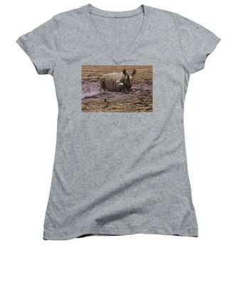 Rhino Women's V-Neck