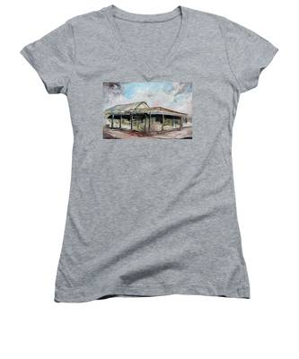 Royal Hotel, Birdsville Women's V-Neck