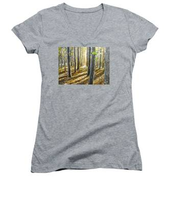 The Forest And The Trees Women's V-Neck