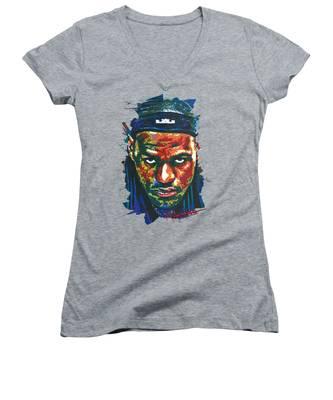 B.b. King Women's V-Neck T-Shirts