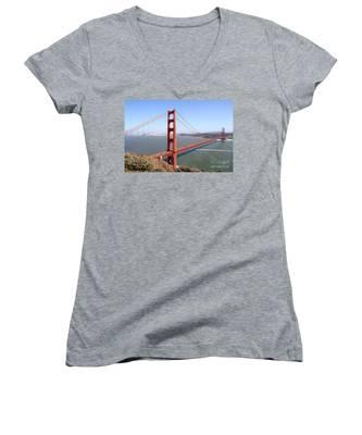 The San Francisco Golden Gate Bridge 7d14507 Women's V-Neck