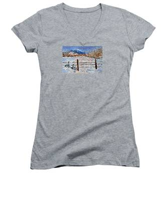 Winter Ride Women's V-Neck