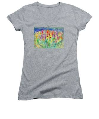 Alpine Meadow Women's V-Neck