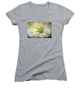 Ancient Flower Women's V-Neck