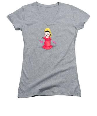 Water Women's V-Neck T-Shirts