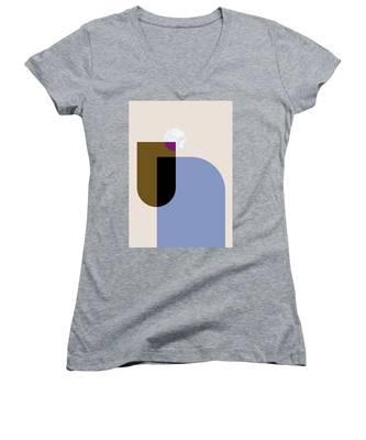 Geometric Painting 4 Women's V-Neck