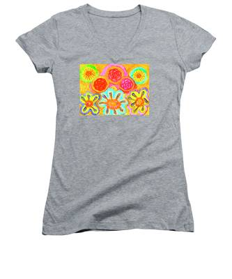 Harmonious And Inharmonious Worlds Women's V-Neck