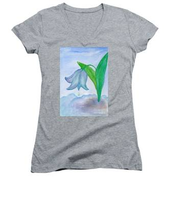 Snowdrop Women's V-Neck