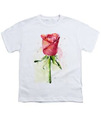 Rose Youth T-Shirts