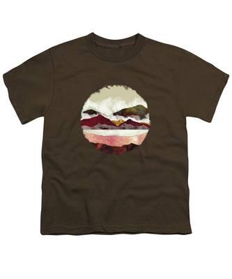 Fantasy Landscape Youth T-Shirts
