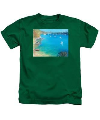 Middle Harbour Sydney Kids T-Shirt