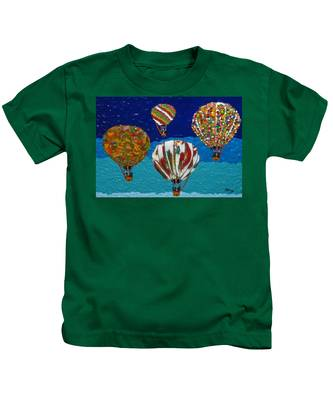 Up Up And Away Kids T-Shirt