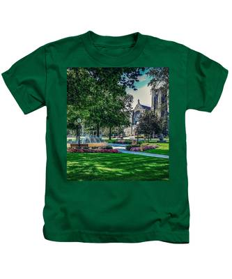 Summer In Juckett Park Kids T-Shirt