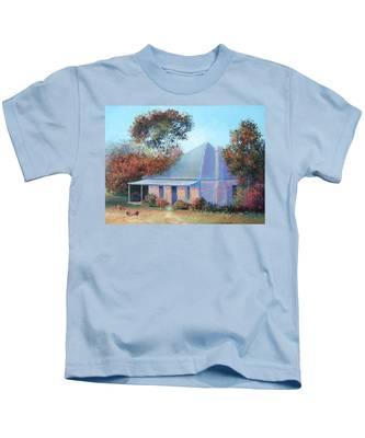 The Old Farm House Kids T-Shirt
