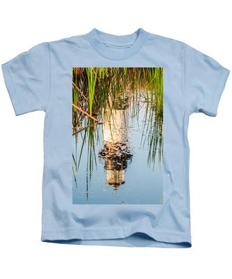 Bodie Island Lighthouse Obx Cape Hatteras North Carolina Kids T-Shirt