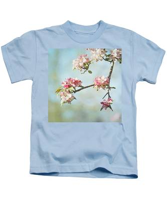 Blossom Branch Kids T-Shirt