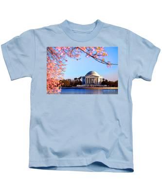 Cherry Jefferson Kids T-Shirt